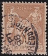 France   .   Yvert   .     80        .             O   .    Oblitéré - 1876-1898 Sage (Type II)
