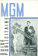 "Guide Publicitaire MGM Cinéma ""Duo De Mitraillettes"" Robert Vaughn Patricia Crowley 1965 - Pubblicitari"