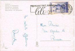 25604. Postal NAPOLI (Italia) 1960. Publicitaria LILION Impermeabili Calz. - 1946-.. République
