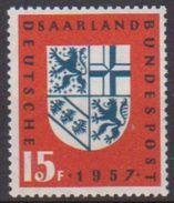 Saarland 1957 MiNr.379  ** Postfrisch Eingliederung Des Saarlandes In Die Bundesrepublik ( 2666 ) Günstige Versandkosten - Ongebruikt