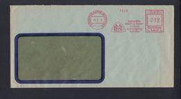 Dt. Reich Brief 1935 Freistempel Maybach - Affrancature Meccaniche Rosse (EMA)