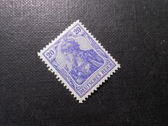 D.R.87 Lld  20Pf* - 1915 - Mi € 2,00 - Unused Stamps