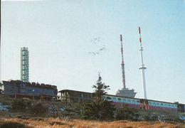 Brocken V. 1993  Brocjkenbahnhof Mit Zug Auf Dem Abfahrtsauftrag   (50604) - Oberharz