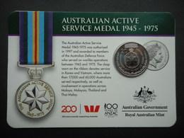 Australia. Australiain Active Service Medal 1945-1975 - Jetons En Medailles