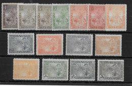 MADAGASCAR -  YVERT N°63/77 * CHARNIERE LEGERE  - COTE = 630 EUROS - - Madagascar (1889-1960)