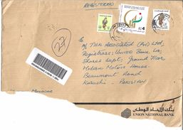 UAE Registered Airmail 2006 Gulf Cooperation Council Day For Autistic Children, FALCON 6D 1990 Type, Falcon 150f - Abu Dhabi