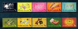 New Zealand 2007 Personalised Stamps Set Used (SG 3003-12) - Nuova Zelanda