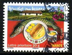 FRANCE. N° A440 De 2010 Oblitéré. Brochet Au Beurre. - Alimentation