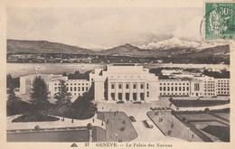 CPA. Suisse. Genève. - Le Palais Des Nations (1935). CAP N° 37. - GE Geneva