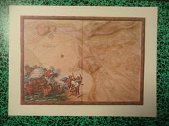 GV N°282 - CARTE DES ENVIRONS DE GRANVILLE - ATLAS DE LOUIS XIV - FORMAT PLANCHE 38.9 Cm X 29 Cm - Granville