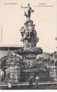 Cp , 65 , TARBES , La Fontaine Monumentale - Tarbes