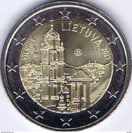 Eurocoins Lithuania 2 Euro 2017 UNC VILNIUS - Lituania