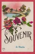 Binche - Souvenir De ... - Jolie Carte Fantaisie - 1927 ( Voir Verso ) - Binche