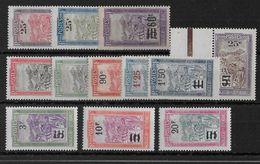 MADAGASCAR -  YVERT N°144/155 **/* CHARNIERE LEGERE OU SANS CHARNIERE (DONT 153/155) - COTE = 36 (+20%) EUROS - - Madagascar (1889-1960)