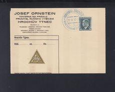 Czechoslovakia Special Cancelation 1937 Overprint - Czechoslovakia