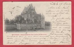 Mouscron - Ancien Château Des Comtes De Mouscron - 1903 ... Oblitération Française ( Voir Verso ) - Mouscron - Moeskroen