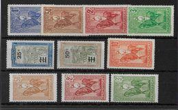 MADAGASCAR -  YVERT N°183/192 * CHARNIERE LEGERE - COTE = 36.5 EUROS - - Madagascar (1889-1960)