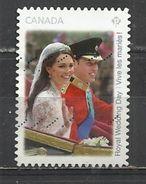 CANADA 2011 - ROYAL WEDDING DAY - USED OBLITERE GESTEMPELT USADO - 1952-.... Règne D'Elizabeth II