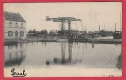 St-Ghislain - Le Pont Leblu ... Péniche ( Voir Verso ) - Saint-Ghislain