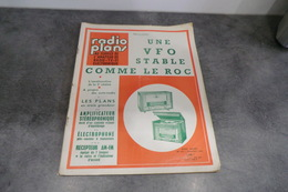 Revue - Radio Plans Au Service De L'amateur De Radio-TV Et Electronique N°195 Janvier 1964 - - Appareils