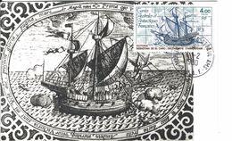 12743 CARTE MAXIMUM - LA VICTORIA - ,St PAUL&AMSTERDAM 1980 - Covers & Documents