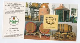 1991 SCWHABEN BRAU BREWERY EVENT COVER With SPECIAL Pmk 200th Anniv Beer Card Stamps Drink Alcohol Postcard Germany - Beers