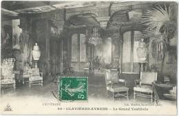 15 - AYRENS -  Château Clavières-Ayrens - Le Grand Vestibule - France