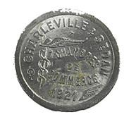 Charleville-Sedan - Ardennes - 5 Centimes De La Chambre De Commerce - Alu - TTB - - Monétaires / De Nécessité