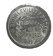 Charleville-Sedan - Ardennes - 5 Centimes De La Chambre De Commerce - Alu - TTB - - Monetary / Of Necessity