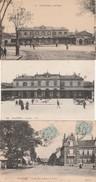 Cpa Chartres - La Gare N° 41 Et 135 - La Rue Jehan De Beauce -  Bon état - - Chartres