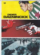 Brochure Didier Daeninckx Par Hanuka Reuzé Mako EP 2017 - Livres, BD, Revues