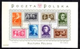 Pologne Bloc-feuillet YT N° 9 Oblitéré. B/TB. A Saisir! - Blocks & Kleinbögen