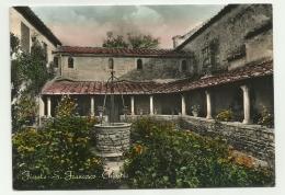 FIESOLE - S.FRANCESCO - CHIOSTRO  VIAGGIATA  FG - Firenze