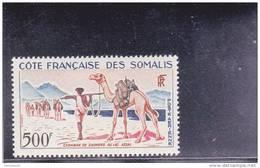 COTE DES SOMALIS - POSTE AERIENNE - YVERT N° 29 ** - COTE = 33 EUR. - - Côte Française Des Somalis (1894-1967)