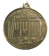 Nancy - Meurthe Et Moselle - Concours De Gymnastique - 1879 - 35mm - - Professionals / Firms