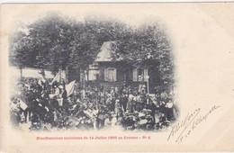 Saône-et-Loire - Manifestations Socialistes Du 14 Juillet 1899 Au Creusot - Le Creusot