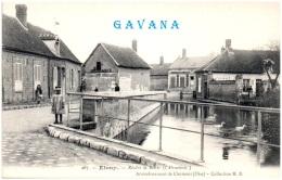 60  ETOUY - Rivière La Brèche (l'abreuvoir)   (Recto/Verso) - Autres Communes