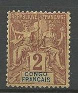 CONGO  N°  13  NEUF*   CHARNIERE TB /  MH / - Französisch-Kongo (1891-1960)
