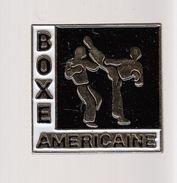 Pin´s -  BOXE AMERICAINE - Boxe