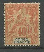 CONGO  N°  21  NEUF* TRACE DE  CHARNIERE TTB /  MH / - Nuovi