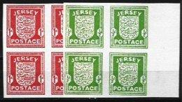 JERSEY, Yv 1/2, SG 1/2, ** MNH, F/VF - Jersey