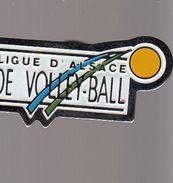 Pin´s -  LIGUE D'ALSACE DE VOLLEYBALL - Volleyball