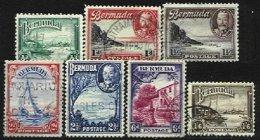 BERMUDA, Yv 92/4, 96, 98, 100, 107, Used, F/VF, Cat. € 6,00 - Bermudes