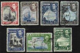BERMUDA, Yv 104/5, 108/9, 111/3, Used, F/VF, Cat. € 13,00 - Bermudes