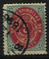 DANISH WEST INDIES, Yv 6, Sc 6ce, Used, F/VF, Cat. € 30,00 - Dänemark (Antillen)