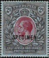 EAST AFRICA & UGANDA, Yv 143, SG 54, ** MNH, F/VF - Kenya, Uganda & Tanganyika