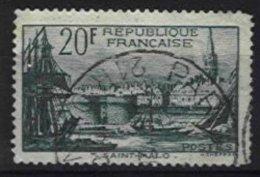FRANCE, Yv 394, Used, F/VF, Cat. € 21,00 - France