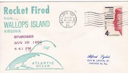 SPACE - ROCKET FIRED FROM WALLOPS ISLAND -1962 - USA/EEUU - EX COLECCION ENGINEER/INGENIEUR DEMETRIO VOZNESENSKY - BLEUP - Space