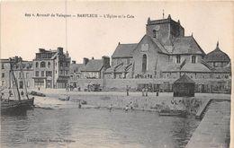 BARFLEUR - L'Eglise Et La Cale - Barfleur