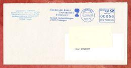 Brief, Pitney Bowes E976639, Eberhard Karls Universitaet Tuebingen, 56 C, 2002 (41484) - Machine Stamps (ATM)